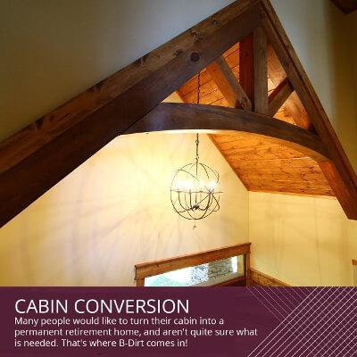 Cabin Conversion